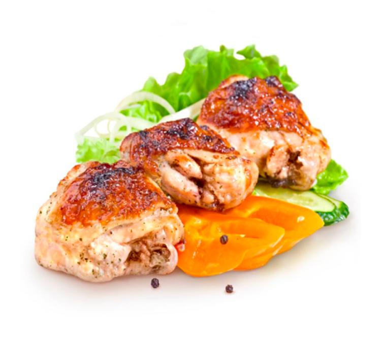 Филе куриного бедра запечённое